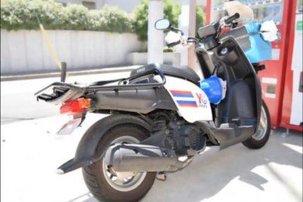 新聞販売店 バイク